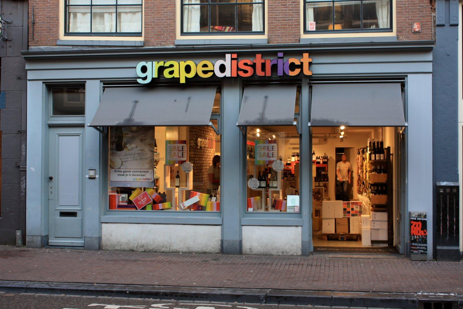grape district - wine store chain